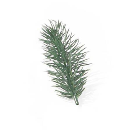 Gałązka zielona 10cm