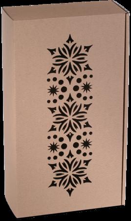 Pudełko prezentowe EKO Kraft 8 36x20x9,5 cm - DESEŃ