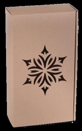 Pudełko prezentowe EKO Kraft 8 36x20x9,5 cm - ROZETA 2