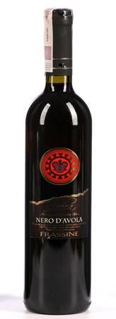 Wino Nero D'avola - Wino czerwone wytrawne 0,75l - Włochy (247)