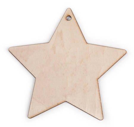 Wycinana gwiazda 13cm