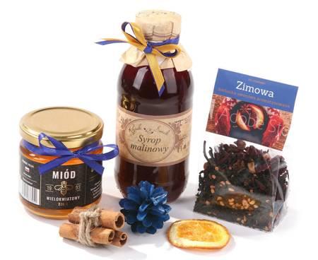 Zestaw prezentowy z Herbatą zimową i Miodem wielokwiatowym